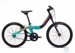 Велосипед Orbea GROW 2 1V 18 Black - Jade - Green 2018