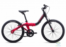 Велосипед Orbea GROW 2 1V 18 Black - Red 2018