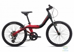 Велосипед Orbea GROW 2 7V 18 Black - Red 2018