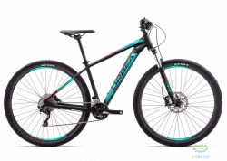 Велосипед Orbea MX 27 20 18 L Black - Turquoise - Red 2018