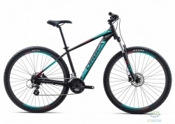 Велосипед Orbea MX 27 50 18 L Black - Turquoise - Red 2018