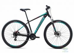 Велосипед Orbea MX 27 50 18 L Black - Turquoise - Red 2018
