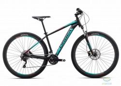 Велосипед Orbea MX 29 30 18 M Black - Turquoise - Red 2018