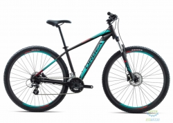 Велосипед Orbea MX 29 50 18 L Black - Turquoise - Red 2018