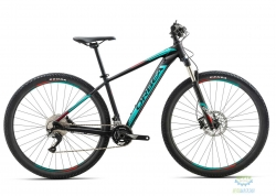 Велосипед Orbea MX 29 MAX 18 L Black - Turquoise - Red 2018