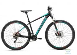 Велосипед Orbea MX 29 MAX 18 L Black - Turquoise - Red 2018