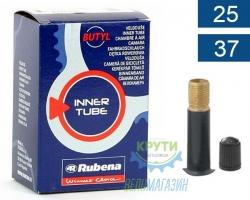 Камера 700 x25-35C (25/37x622/635) AV 35мм Mitas (RUBENA) Classic A03, BSC 0.9mm в коробке