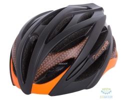Шлем Green Cycle New Alleycat размер 58-61см для города/шоссе бело-серый матовый