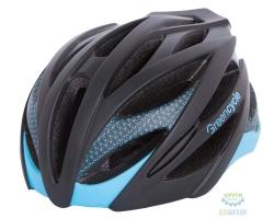 Шлем Green Cycle New Alleycat размер 58-61см для города/шоссе черно-синий матовый