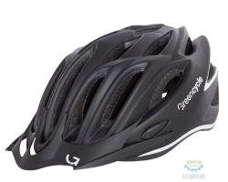 Шлем Green Cycle New Rock размер 54-58см черно-белый матовый