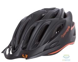Шлем Green Cycle New Rock размер 54-58см черно-оранжевый матовый