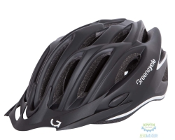 Шлем Green Cycle New Rock размер 58-61см черно-белый матовый