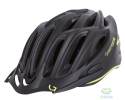 Шлем Green Cycle New Rock размер 58-61см черно-желтый матовый