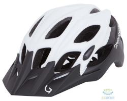 Шлем Green Cycle Enduro размер 54-58см черно-белый матовый