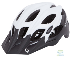 Шлем Green Cycle Enduro размер 58-61см черно-белый матовый