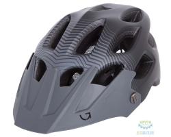 Шлем Green Cycle Slash размер 54-58см черно-серый матовый