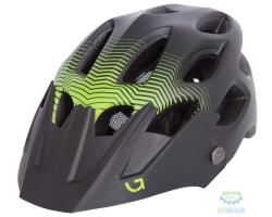 Шлем Green Cycle Slash размер 58-61см темный зелено-салатовый матовый