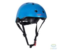 Шлем детский Kiddimoto Metallic, размер M 53-58см