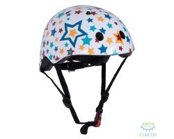 Шлем детский Kiddimoto Stars, размер M 53-58см