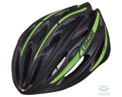 Шлем Limar ROAD 778 размер M 52-57см черно-зеленый матовый