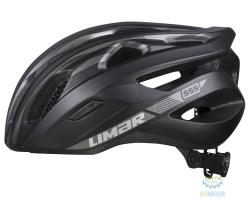Шлем Limar ROAD 555 размер M 52-57см черно-серый матовый