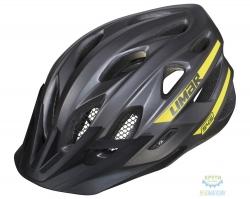 Шлем Limar MTB 545 размер M 52-57см серо-желтый матовый