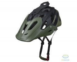 Шлем Limar DIRT & ALL-MOUNTAIN 949DR размер M 55-59см черно-зеленый матовый