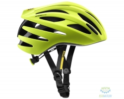 Шлем Mavic AKSIUM ELITE размер M (54-59см) Safety Yellow/Black желто-черный