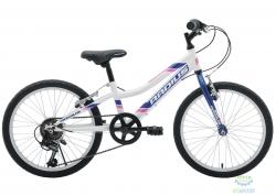 Велосипед 20 Radius Nebula рама- 10.5 Gloss Pearl White/Gloss Navy Blue/Gloss Pink