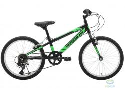 Велосипед 20 Radius Throttle рама-12 Gloss Black/Gloss Neon Green