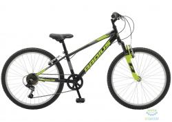 Велосипед 24 Radius Leopard рама- 13 Gloss Black/Gloss Lime/Gloss Charcoal