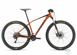 Велосипед Orbea ALMA 27 H50 18 M Orange - Black 2018