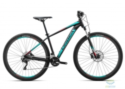 Велосипед Orbea MX 27 10 18 L Black - Turquoise - Red 2018