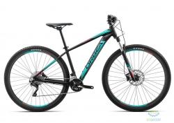 Велосипед Orbea MX 27 10 18 L Black - Turquoise - Red 2018