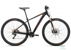Велосипед Orbea MX 27 MAX 18 M Black-Orange 2018