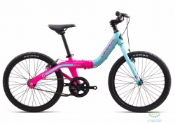 Велосипед Orbea GROW 2 1V 18 Blue - Pink 2018