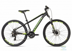 Велосипед Orbea MX 26 DIRT 18 XS Black - Green - Yellow 2018