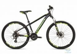 Велосипед Orbea MX 26 XC 18 XS Black - Green - Yellow 2018