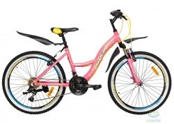 Велосипед 24 Premier Luna V-brake 15 Pink 2018