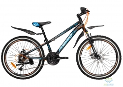Велосипед 24 Premier XC Disc 11 Black 2018