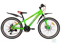 Велосипед 24 Premier XC Disc 11 Green 2018