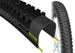 Покрышка 27.5x2.25 (54-584) Mavic QUEST PRO, UST Tubeless Ready Folding DC 66 TPI