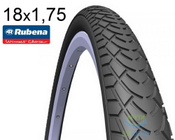 Покрышка 18x1.75*2 (47x355) MITAS (RUBENA) WALRUS V41 Pre Classic черная