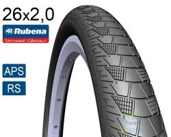 Покрышка 26x2.00 (52x559) RUBENA CITYHOPPER V99 Classic APS+RS черная