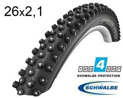 Покрышка 26x2.10 (54-559) Schwalbe ICE SPIKER PRO Perfomance HS379, RaceGuard, 361 шип, B/B-SK WiC 67 EPI