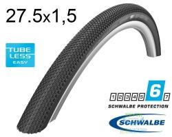Покрышка 27.5x1.50 650B (40-584) Schwalbe G-ONE Allround MicroSkin TL-Easy Folding B/B-SK HS473 OSC 127EPI EK