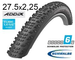 Покрышка 27.5x2.25 650B (57-584) Schwalbe RACING RALPH Performance,TL-Ready, B/B HS490 Addix 67EPI