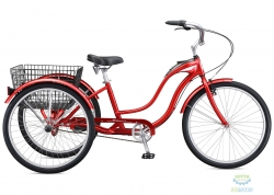 Велосипед 26 Schwinn TOWN & COUNTRY красный 2019