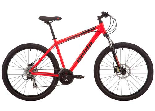 Велосипед 27,5 Pride MARVEL 7.3 рама - L красный 2019