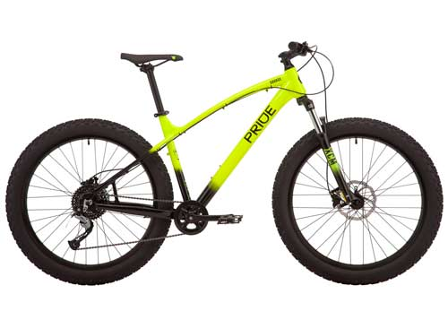 Велосипед 27,5 Pride SAVAGE 7.1 рама - L желтый 2019